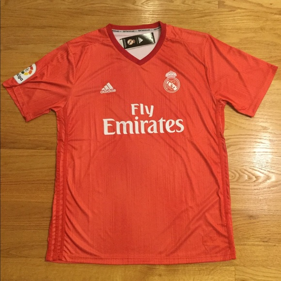 reputable site 1b4ad bc8b4 2018/19 Real Madrid 3rd Soccer Jersey pink